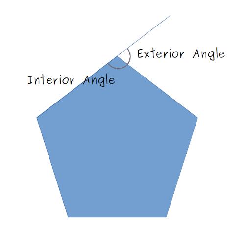 A lego mindstorms ev3 polygon gyrotracker - Exterior angle of polygon formula ...